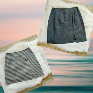3/$25 pair of vintage 90s mini skirts sz 5
